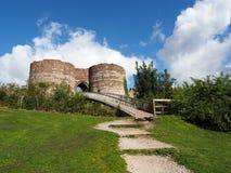 BEESTON, CHESHIRE/UK - SEPTEMBER 16 : Ancient Ruins of Beeston C Stock Photos