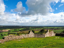 BEESTON, CHESHIRE/UK - SEPTEMBER 16 : Ancient Ruins of Beeston C Stock Photography