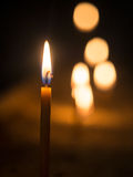 Beeswac candles Royalty Free Stock Photo
