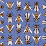 beeswax картина предпосылки цветастая безшовная бесплатная иллюстрация