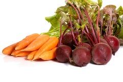 Beet&carrot Stockfotos