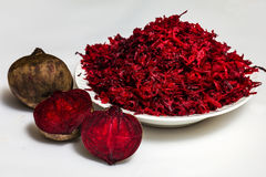 Beet and beet salad Royalty Free Stock Photo