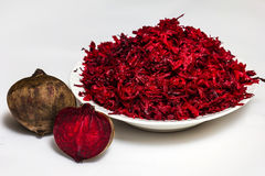 Beet and beet salad Royalty Free Stock Images