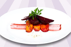 Beet and carrot Stock Photo
