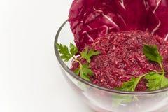 Beet caviar Stock Photography