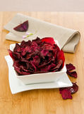 Beet chips Stock Photography
