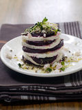 Beet and feta appetizer Royalty Free Stock Photography