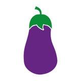Beet fresh vegetable icon Stock Image