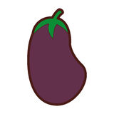 Beet fresh vegetable icon Stock Images