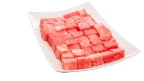 Beet Gerangschikte Watermeloen III Stock Afbeelding