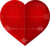 Beet heart logo Royalty Free Stock Photography