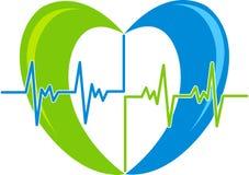 Beet heart logo Stock Image