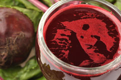 Beet juice Royalty Free Stock Image