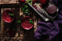 Beet juice Stock Photography