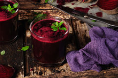 Beet juice Royalty Free Stock Photography