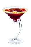 Beet martini cocktail Stock Photos