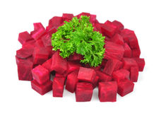 Beet with parsley Royalty Free Stock Photo