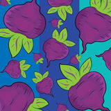 Beet pattern Royalty Free Stock Images