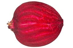 Beetroot closeup on white Royalty Free Stock Images