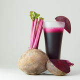 Beet root juice Royalty Free Stock Images