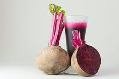 Beet root juice Stock Image