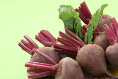 Beet roots. Some fresh and raw beet roots - ready to cook Royalty Free Stock Photography
