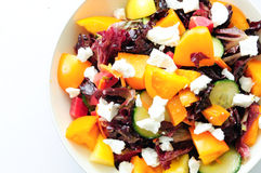 Beet salad with heirloom tomato Stock Images