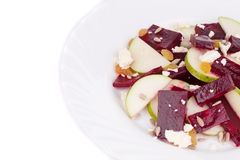 Beet salad with pear. Stock Photo