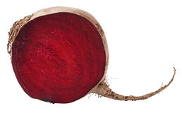 Beet section isolated Stock Photography
