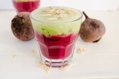Beet smoothie Stock Photo