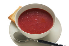 Beet soup Stock Photo