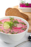 Beet soup Royalty Free Stock Image