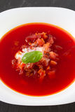Beet soup Royalty Free Stock Images