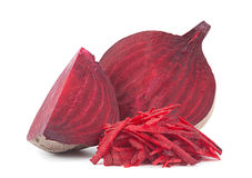 Beet vegetable grated Stock Photos