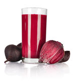Beet vegetable juice stock photography