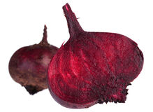 Beet on white Royalty Free Stock Images
