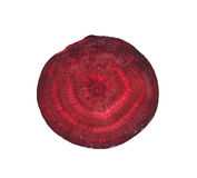 Beet on white background Stock Photo