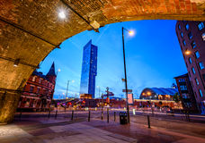 Beetham Tower Manchester England Royalty Free Stock Photo
