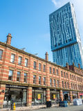 Beetham tower in Manchester Royalty Free Stock Photography