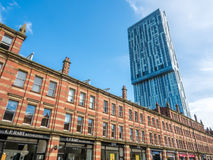 Beetham tower in Manchester Royalty Free Stock Images