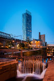 Beetham tower roachdale canal Stock Photos