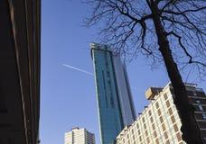 Beethamtoren in Stadscentrum van Birmingham het UK stock afbeelding