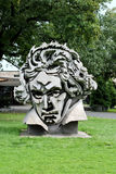 Beethoven. Sculpture of Ludwig van Beethoven in Bonn, Germany stock image