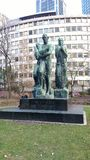 Beethoven Dem geniusza Pomnikowi Beethovens obrazy royalty free