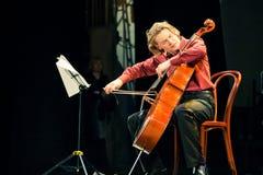 Beethoven Duo - Fedor Elesin and Alina Kabanova Stock Image