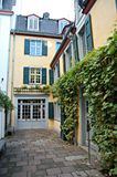 Beethoven House. In Bonn, Germany, where Beethoven was born Royalty Free Stock Photos