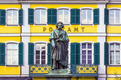 The Beethoven Monument on Royalty Free Stock Photos