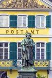 The Beethoven Monument on the Munsterplatz in Bonn Stock Image