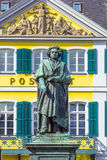 The Beethoven Monument on the Munsterplatz in Bonn Stock Photography