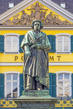 The Beethoven Monument on the Munsterplatz in Bonn Stock Image
